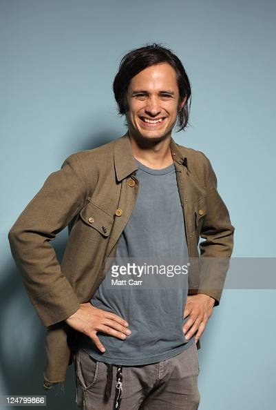 Actor Gael Garcia Bernal of 'The Loneliest Planet' poses during the 2011 Toronto Film Festival at Guess Portrait Studio on September 12 2011 in...