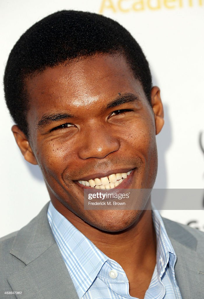 Actor Gaius Charles attends the Television Academy and SAG-AFTRA Presents Dynamic & Diverse: A 66th Emmy Awards Celebration of Diversity at the Leonard H. Goldenson Theatre on August 12, 2014 in North Hollywood, California.