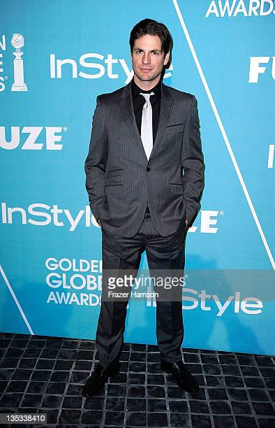 Actor Gale Harold arrives at The Hollywood Foreign Press Association and InStyle Presents 'A Night Of Firsts' at Cecconi's Restaurant on December 8...