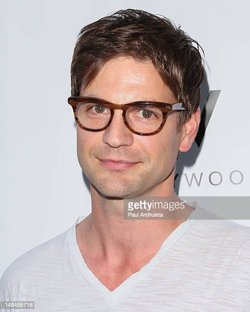 Actor Gale Harold attends the Logo's AfterEllen AfterElton inaugural 'Hot 100 Party' at Station Hollywood at W Hollywood Hotel on July 16 2012 in...