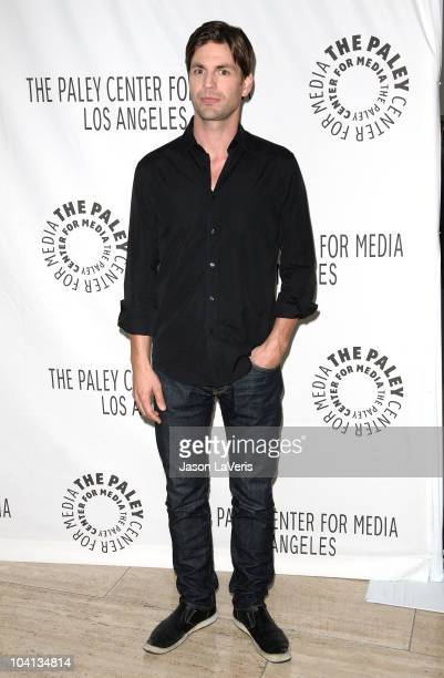 Actor Gale Harold attends the PaleyFest fall 2010 TV preview party for the CW at The Paley Center for Media on September 15 2010 in Beverly Hills...