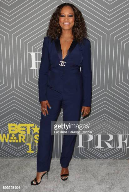 Actor Garcelle Beauvais attends BET Chairman and CEO Debra Lee's 'PRE' a BET Awards dinner for the 17th Annual BET Awards at The London West...