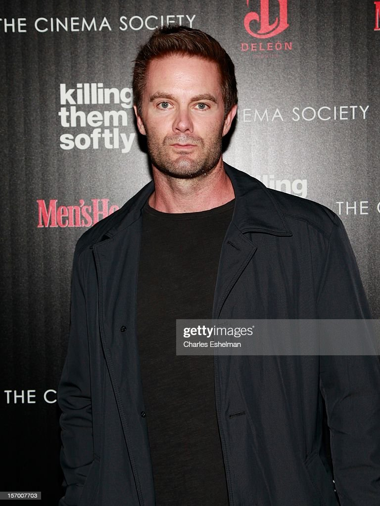 Actor Garret Dillahunt attends a screening of The Weinstein Company's 'Killing Them Softly' hosted by The Cinema Society with Men's Health and DeLeon at SVA Theatre on November 26, 2012 in New York City.
