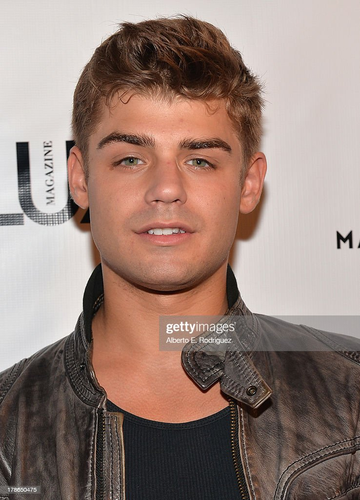 Actor <a gi-track='captionPersonalityLinkClicked' href=/galleries/search?phrase=Garrett+Clayton&family=editorial&specificpeople=9767833 ng-click='$event.stopPropagation()'>Garrett Clayton</a> arrives to Genlux Magazine's Issue Release party featuring Erika Christensen at The Sofitel Hotel on August 29, 2013 in Los Angeles, California.