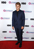 Actor Garrett Clayton attends a screening of 'King Cobra' and the presentation of the James Schamus Ally Award at the 2016 Outfest at Director's...