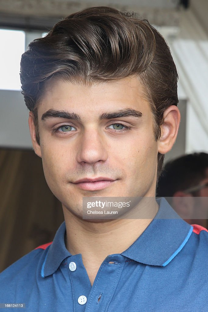 Actor Garrett Clayton attends the Original Penguin summer collection launch event at Drai's Hollywood on May 5, 2013 in Hollywood, California.