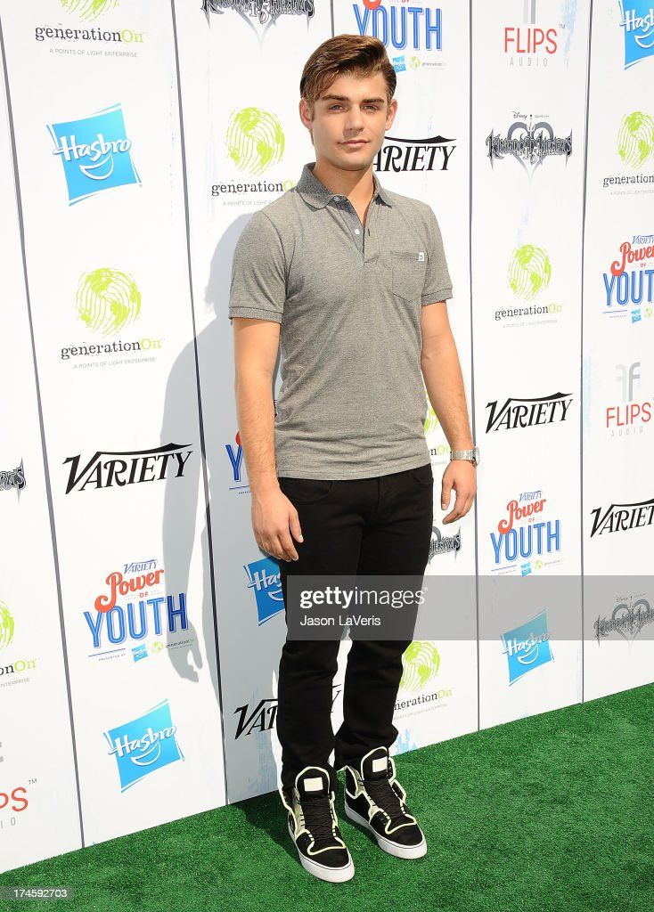 Actor Garrett Clayton attends Variety's 7th annual Power of Youth event at Universal Studios Hollywood on July 27, 2013 in Universal City, California.