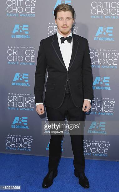 Actor Garrett Hedlund arrives at the 20th Annual Critics' Choice Movie Awards at Hollywood Palladium on January 15 2015 in Los Angeles California