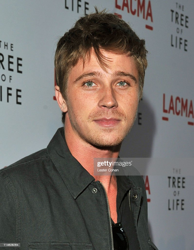 Actor Garrett Hedlund arrives at 'The Tree Of Life' Los Angeles Premiere at Bing Theatre at the Los Angeles County Museum of Art on May 24 2011 in...