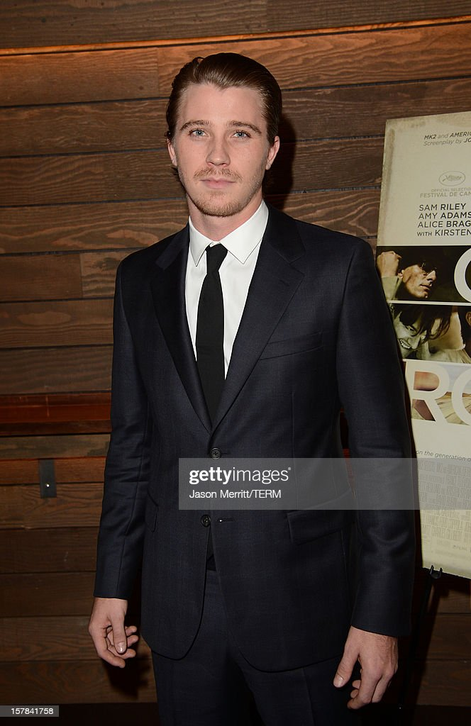 Actor <a gi-track='captionPersonalityLinkClicked' href=/galleries/search?phrase=Garrett+Hedlund&family=editorial&specificpeople=2290407 ng-click='$event.stopPropagation()'>Garrett Hedlund</a> attends a special screening of 'On The Road' at Sundance Cinema on December 6, 2012 in Los Angeles, California.