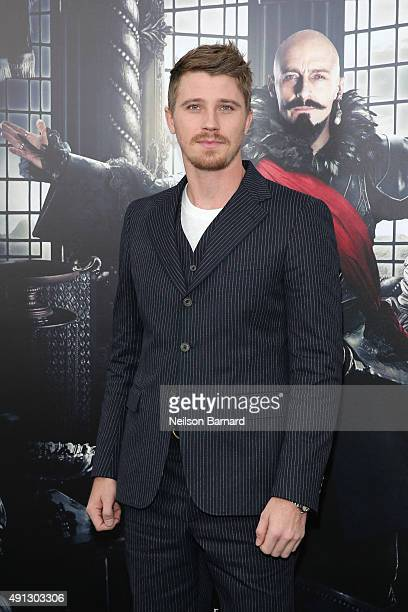 Actor Garrett Hedlund attends 'Pan' premiere at Ziegfeld Theater on October 4 2015 in New York City