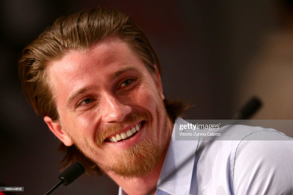 Actor Garrett Hedlund attends the 'Inside Llewyn Davis' Press Conference during The 66th Annual Cannes Film Festival at Palais des Festivals on May 19, 2013 in Cannes, France.
