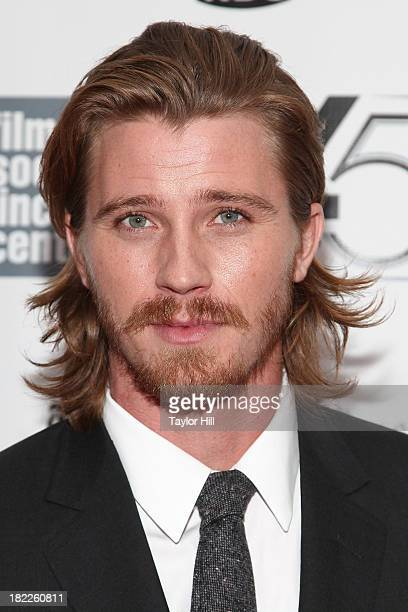 Actor Garrett Hedlund attends the 'Inside Lleywn Davis' permiere during the 51st New York Film Festival at Alice Tully Hall at Lincoln Center on...