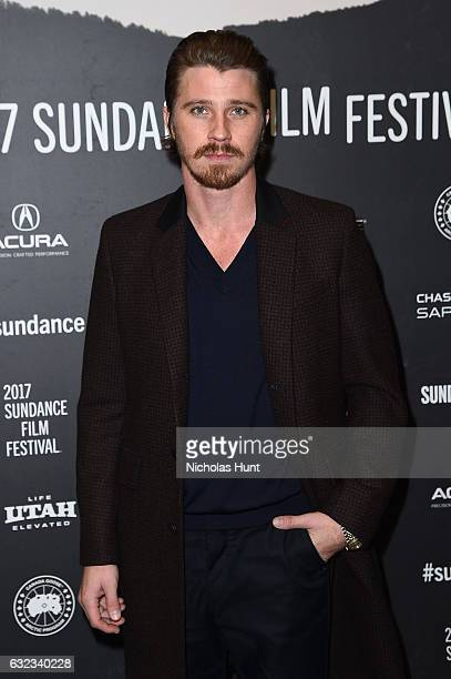 Actor Garrett Hedlund attends the 'Mudbound' Premiere on day 3 of the 2017 Sundance Film Festival at Eccles Center Theatre on January 21 2017 in Park...