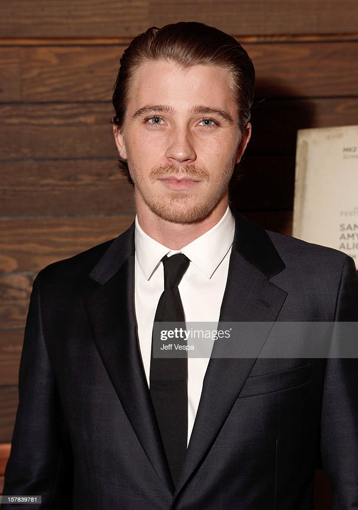 Actor <a gi-track='captionPersonalityLinkClicked' href=/galleries/search?phrase=Garrett+Hedlund&family=editorial&specificpeople=2290407 ng-click='$event.stopPropagation()'>Garrett Hedlund</a> attends the private Los Angeles screening of 'On The Road' at Sundance Cinema on December 6, 2012 in Los Angeles, California.