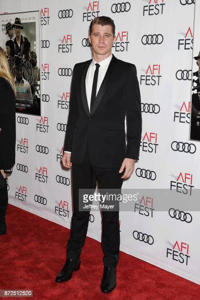 Actor Garrett Hedlund attends the screening of Netflix's 'Mudbound' at the Opening Night Gala of AFI FEST 2017 presented by Audi at TCL Chinese...