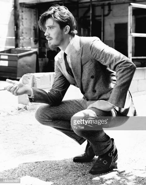 Actor Garrett Hedlund is photographed for Esquire UK on September 1 2012 in Los Angeles California ON INTERNATIONAL EMBARGO UNTIL JUNE 01 2013