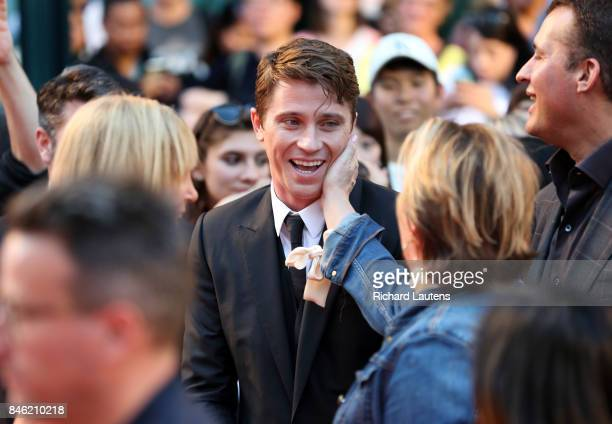 TORONTO ON SEPTEMBER 12 Actor Garrett Hedlund MUDBOUND had a showing at Roy Thomson Hall for TIFF On the red carpet the expected guests d Dee Rees...