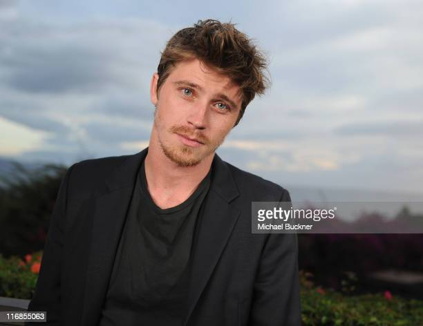 Actor Garrett Hedlund poses for a portrait at the 2011 Maui Film Festival at the Celestial Cinema on June 17 2011 in Wailea Hawaii