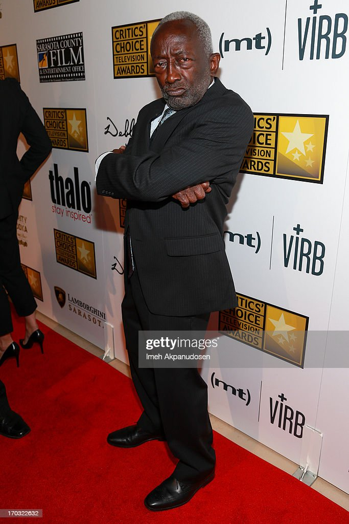 Actor <a gi-track='captionPersonalityLinkClicked' href=/galleries/search?phrase=Garrett+Morris&family=editorial&specificpeople=1521649 ng-click='$event.stopPropagation()'>Garrett Morris</a> attends the Critics' Choice Television Awards at The Beverly Hilton Hotel on June 10, 2013 in Beverly Hills, California.