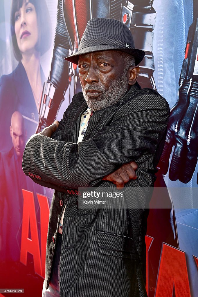 Actor Garrett Morris attends the premiere of Marvel's 'Ant-Man' at the Dolby Theatre on June 29, 2015 in Hollywood, California.