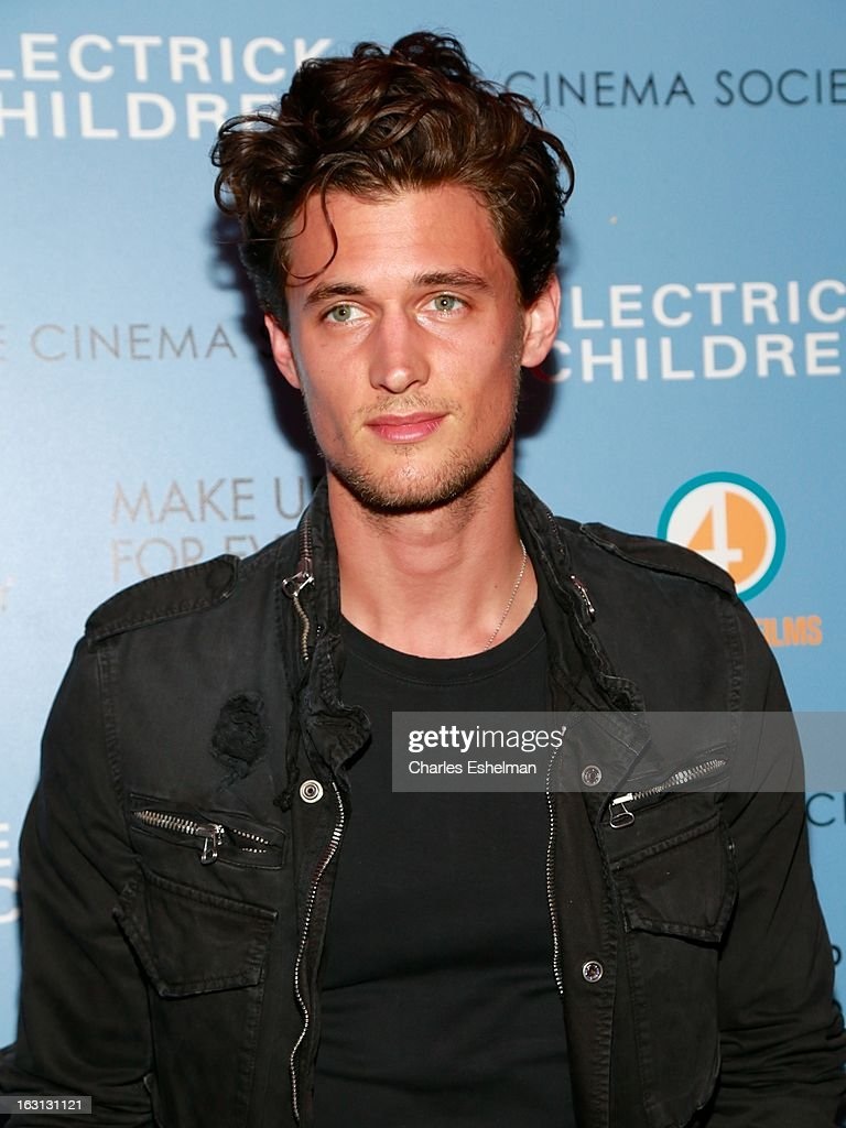 Actor Garrett Neff attends The Cinema Society & Make Up For Ever host a screening of 'Electrick Children' at IFC Center on March 4, 2013 in New York City.