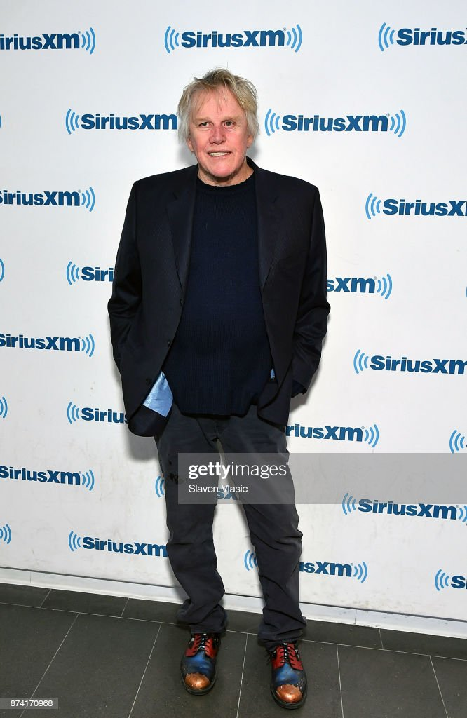 Actor Garry Busey visits SiriusXM Studios on November 14, 2017 in New York City.