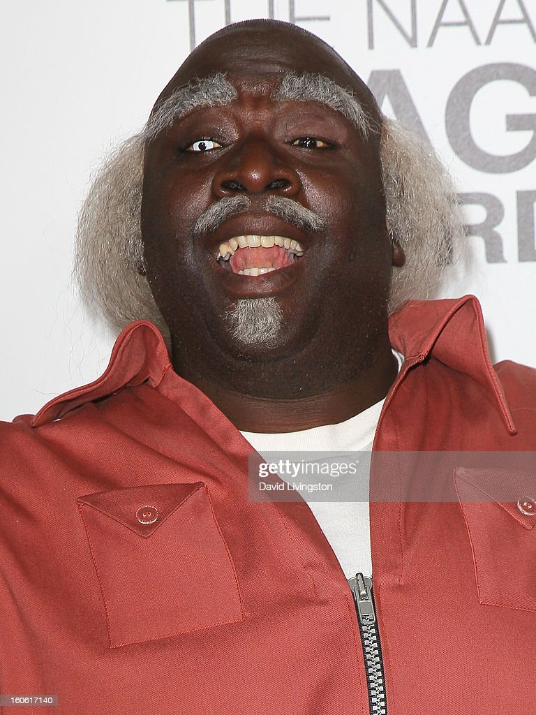 Actor Gary Anthony Williams dressed as 'Uncle Ruckus' from The Boondocks attends the 44th NAACP Image Awards at the Shrine Auditorium on February 1, 2013 in Los Angeles, California.