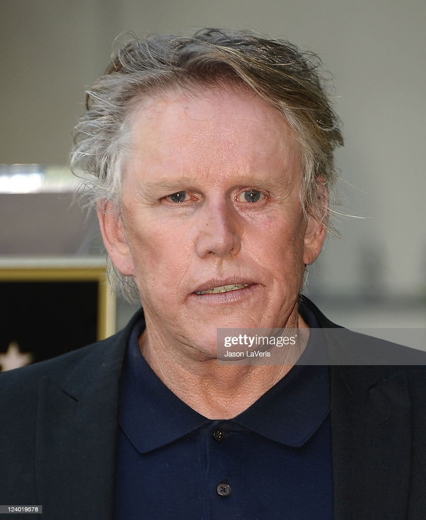 Actor <a gi-track='captionPersonalityLinkClicked' href=/galleries/search?phrase=Gary+Busey&family=editorial&specificpeople=206115 ng-click='$event.stopPropagation()'>Gary Busey</a> attends Buddy Holly's induction into The Hollywood Walk of Fame on September 7, 2011 in Hollywood, California.