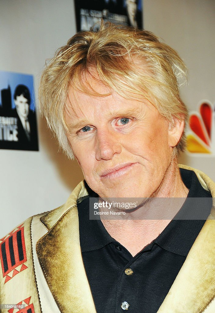 Actor <a gi-track='captionPersonalityLinkClicked' href=/galleries/search?phrase=Gary+Busey&family=editorial&specificpeople=206115 ng-click='$event.stopPropagation()'>Gary Busey</a> attends the 'Celebrity Apprentice All Stars' Season 13 Press Conference at Jack Studios on October 12, 2012 in New York City.