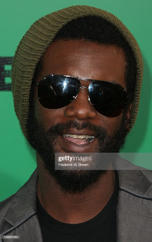 Actor Gary Clark Jr., attends the Premiere of Magnolia Pictures' 'Marley' at the ArcLight Hollywood on April 17, 2012 in Hollywood, California.