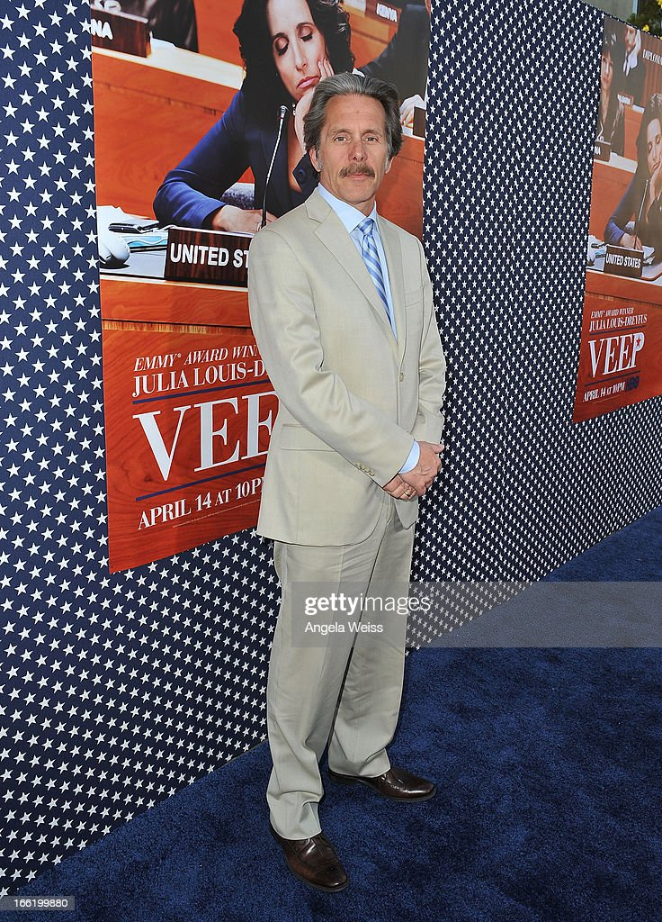 Actor <a gi-track='captionPersonalityLinkClicked' href=/galleries/search?phrase=Gary+Cole&family=editorial&specificpeople=577623 ng-click='$event.stopPropagation()'>Gary Cole</a> attends the Los Angeles premiere for the second season of HBO's series 'Veep' at Paramount Studios on April 9, 2013 in Hollywood, California.