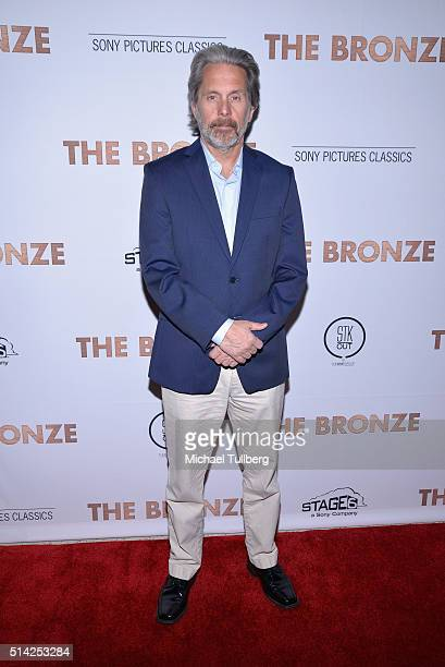 Actor Gary Cole attends the premiere of Sony Pictures Classics' 'The Bronze' at the Regent Theater on March 7 2016 in Los Angeles California