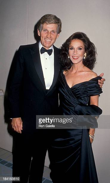 Actor Gary Collins and actress Mary Ann Mobley attending 'Nolan Miller Couture Collection Fashion Gala' on September 30 1988 at the Four Season Hotel...