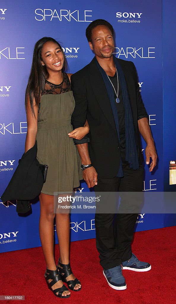 Actor <a gi-track='captionPersonalityLinkClicked' href=/galleries/search?phrase=Gary+Dourdan&family=editorial&specificpeople=204463 ng-click='$event.stopPropagation()'>Gary Dourdan</a> (R) and his guest attend the Premiere Of Tri-Star Pictures' 'Sparkle' at Grauman's Chinese Theatre on August 16, 2012 in Hollywood, California.