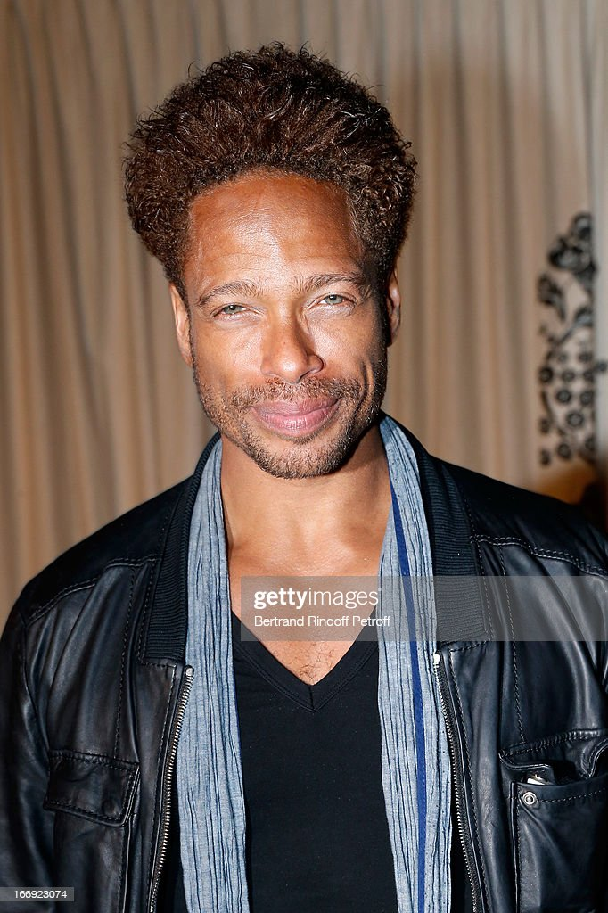 Actor Gary Dourdan attends 'Divamour' launch party at Tres Honore Bar on April 18, 2013 in Paris, France.