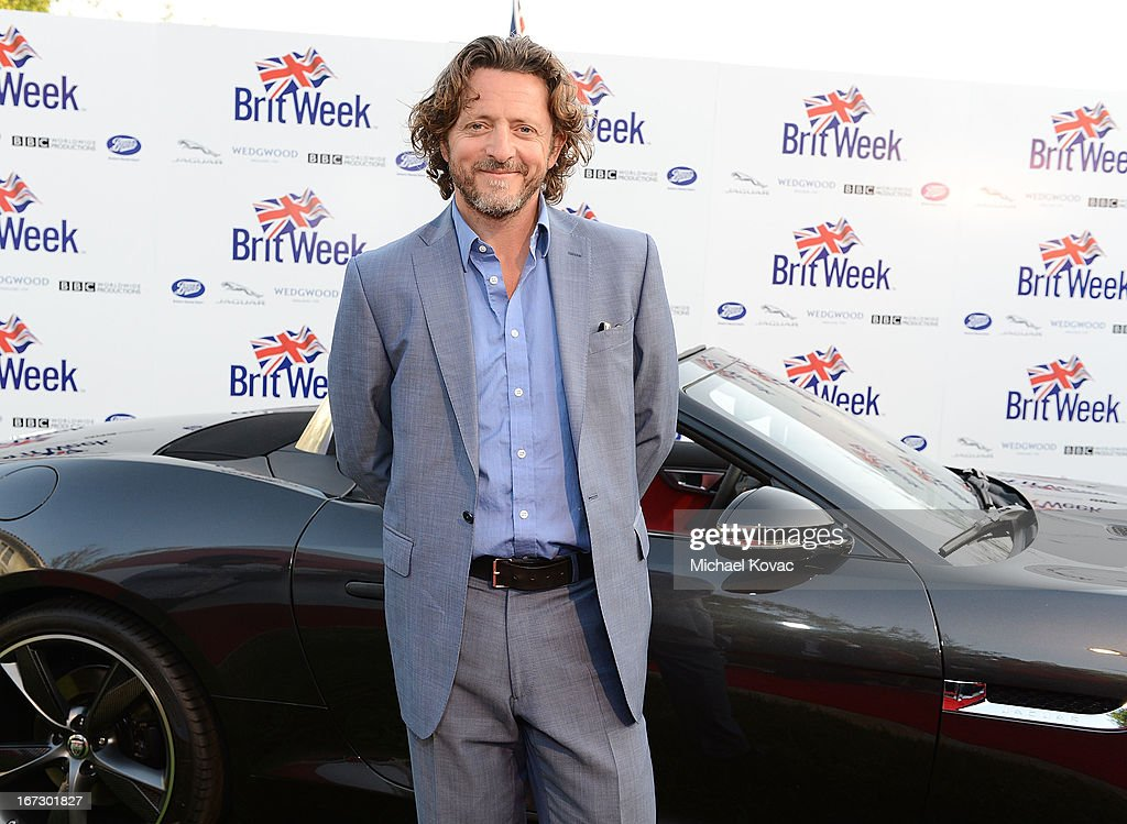 Actor Gary Love attends the BritWeek Los Angeles Red Carpet Launch Party with Official Vehicle Sponsor Jaguar on April 23, 2013 in Los Angeles, California.
