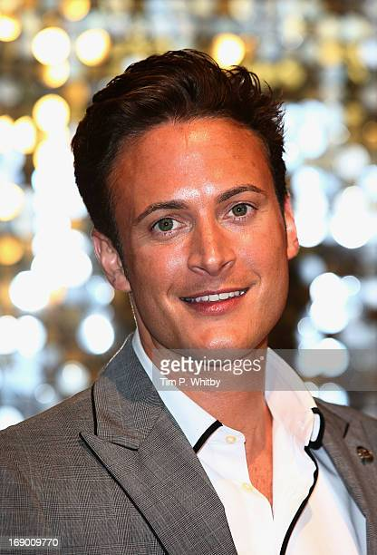 Actor Gary Lucy attends the British Soap Awards at Media City on May 18 2013 in Manchester England