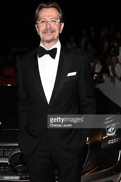 Actor Gary Oldman arrives at MercedesBenz at Palm Springs International Film Festival awards gala on January 7 2012 in Palm Springs California