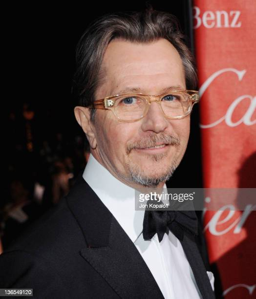 Actor Gary Oldman arrives at the 23rd Annual Palm Springs International Film Festival Awards Gala at Palm Springs Convention Center on January 7 2012...