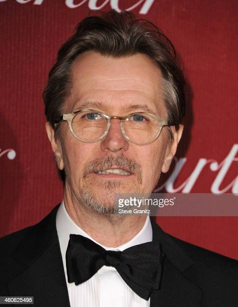 Actor Gary Oldman arrives at the 25th annual Palm Springs International Film Festival awards gala at Palm Springs Convention Center on January 4 2014...