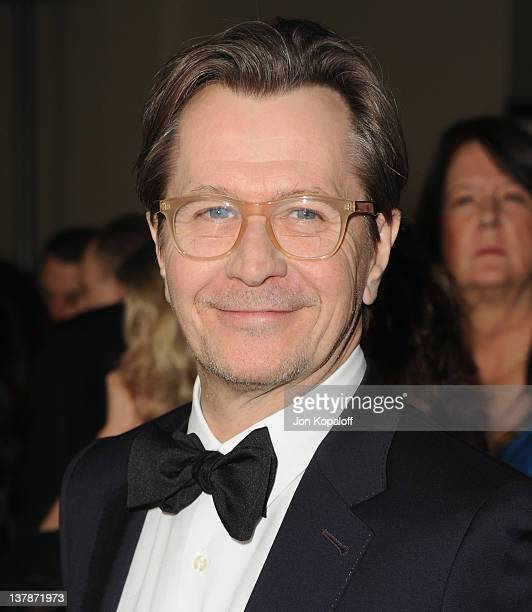 Actor Gary Oldman arrives at the 64th Annual DGA Awards at the Grand Ballroom at Hollywood Highland Center on January 28 2012 in Hollywood California