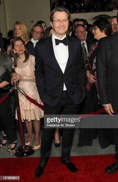 Actor Gary Oldman arrives at the 64th Annual Directors Guild Of America Awards held at the Grand Ballroom at Hollywood Highland on January 28 2012 in...