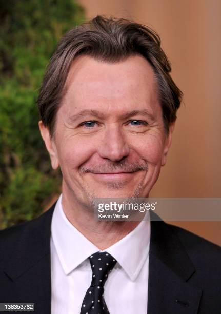 Actor Gary Oldman arrives at the 84th Academy Awards Nominations Luncheon at The Beverly Hilton hotel on February 6 2012 in Beverly Hills California