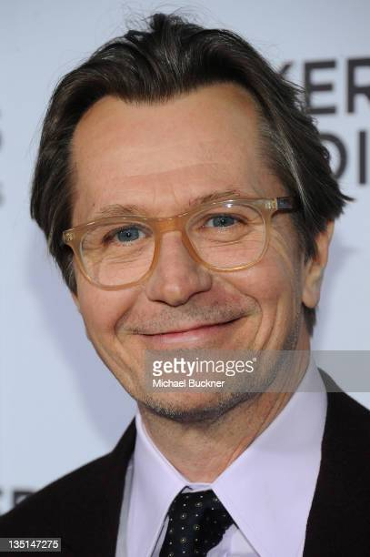 Actor Gary Oldman arrives at the premiere of Focus Features' 'Tinker Tailor Soldier Spy' at the Arclight Cinerama Dome on December 6 2011 in...