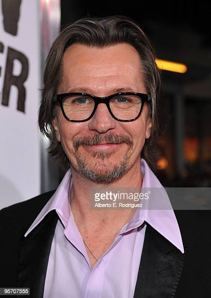Actor Gary Oldman arrives at the premiere of Warner Bros 'The Book Of Eli' held at Grauman's Chinese Theatre on January 11 2010 in Hollywood...