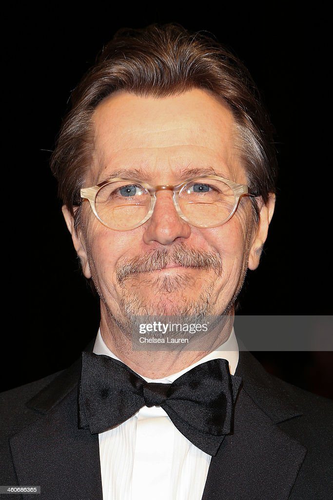 Actor <a gi-track='captionPersonalityLinkClicked' href=/galleries/search?phrase=Gary+Oldman&family=editorial&specificpeople=213839 ng-click='$event.stopPropagation()'>Gary Oldman</a> arrives in style during the Mercedes-Benz arrivals at the 25th Annual Palm Springs International Film Festival Awards Gala onJanuary 4, 2014 in Palm Springs, California.