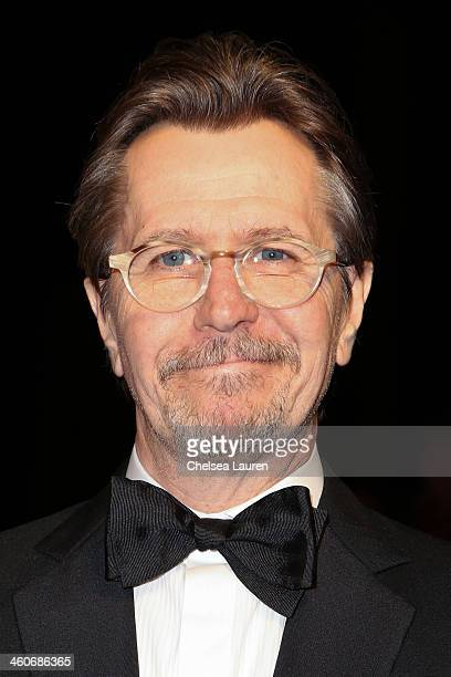 Actor Gary Oldman arrives in style during the MercedesBenz arrivals at the 25th Annual Palm Springs International Film Festival Awards Gala onJanuary...