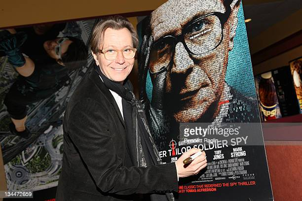 Actor Gary Oldman attends the Variety screening of 'Tinker Tailor Soldier Spy' at the Chelsea Clearview Cinemas on December 1 2011 in New York City