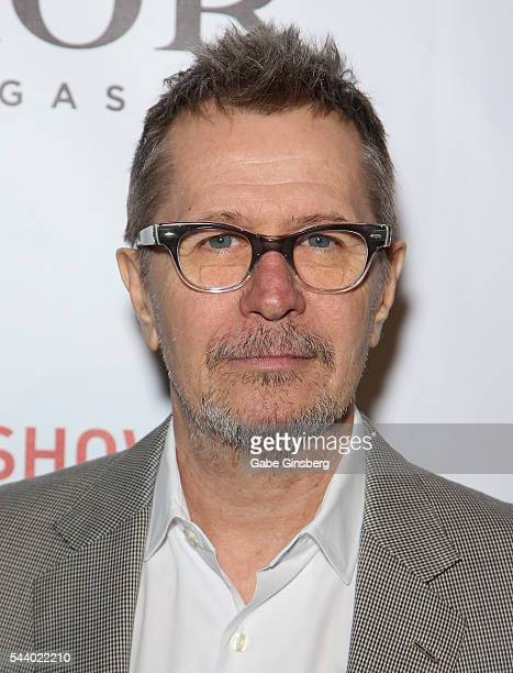 Actor Gary Oldman attends the world premiere of 'Criss Angel Mindfreak Live' at the Luxor Hotel and Casino on June 30 2016 in Las Vegas Nevada
